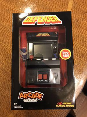 Mini defender arcade game for Sale in Sanger, CA