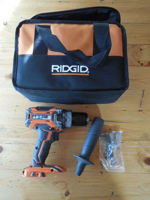 "FREE BAG! NEW RIDGID R86116 18V GEN5X BRUSHLESS 1/2"" COMPACT HAMMER DRILL ONLY for Sale in Overland Park, KS"