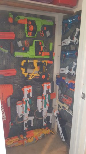 Nerf Gun Arsenal for Sale in Daly City, CA