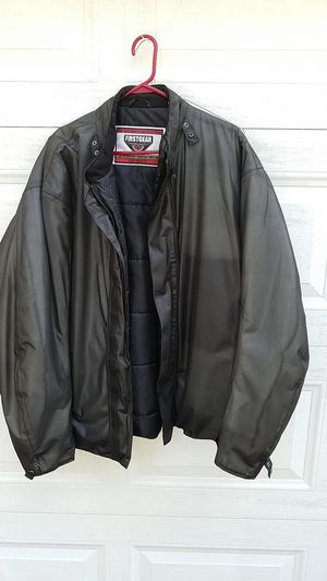 Honda motorcycle jacket, First Gear Kilimanjara like new size 2xlt, with winter buttons insert. for Sale in Aurora, IL