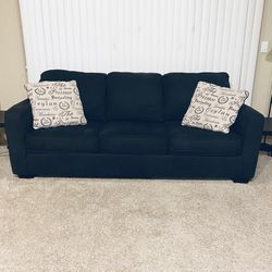 Charcoal Queen Sofa With Sleeper Mattress for Sale in Austin,  TX