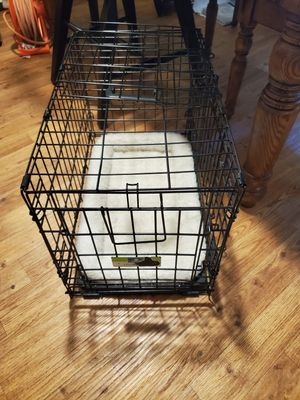 Metal dog crate kennel like new medium for Sale in Vancouver, WA