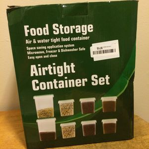 Food storage airtight container set for Sale in Birmingham, AL