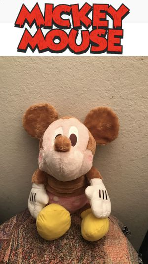 MICKEY MOUSE - LAYING DOWN SOFT PLUSHY / NEW for Sale in Ontario, CA