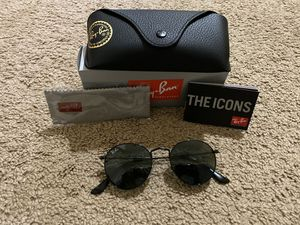 Ray Ban Round Metal Black Sunglasses for Sale in Elk Grove, CA