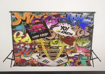 Hip hop 90s backdrop for Sale in Stoughton,  MA