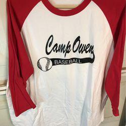 Camp Owens baseball teamBaseball shirt for Sale in Bakersfield,  CA