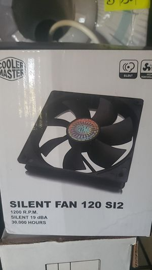 Cool master silent fan 120 SI2 for Sale in Clovis, CA