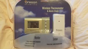 Oregon wireless thermometer & alarm clock for Sale in Mill Creek, WA