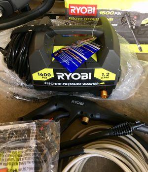 Ryobi 1600 PSI electric pressure washer for Sale in Chicago, IL