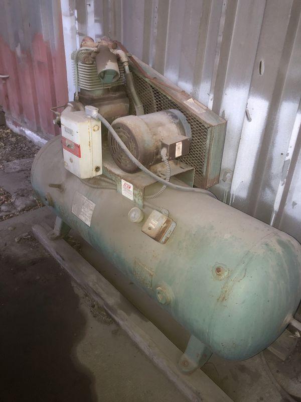 2 Large shop Air Compressors