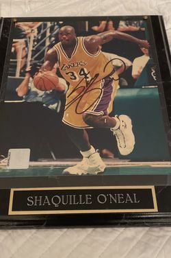 Shaquille O'Neal Auto Frame w/ Auth for Sale in Miami,  FL