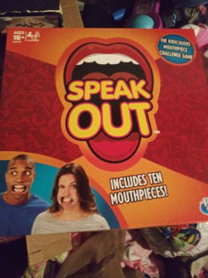 Speak out game. for Sale in Springfield, OR