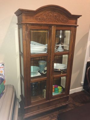 Antique china cabinet for Sale in Frisco, TX