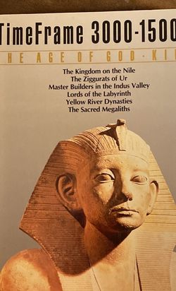 Timeframe 3000-1500 BC THE AGE OF GOD-KINGS book for Sale in Tampa,  FL