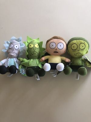 Rick and Morty Plushie Set for Sale in Bloomington, CA