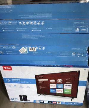 "TCL - 40"" Class - LED - 3-Series - 1080p - Smart - HDTV Roku TV Model:40S325 for Sale in Crown Point, IN"