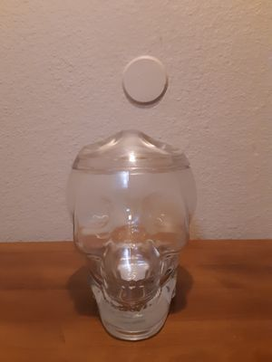 Skull candy jar for Sale in Tacoma, WA