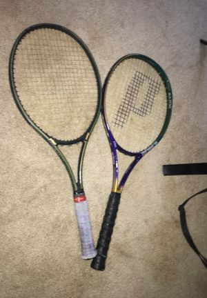 Prince pro Tennis rackets for Sale in Portland, OR