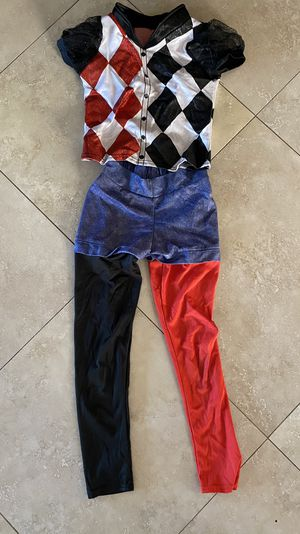 HARLEY QUINN COSTUME 8-10 for Sale in San Diego, CA
