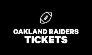 Oakland raider tickets Sunday, November 3mm for Sale in Alameda, CA