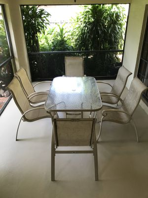 Outdoor patio furniture for Sale in FL, US