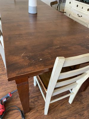 Pottery Barn Kitchen Table & Bench + 4 chairs for Sale in Poway, CA