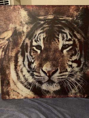 Tiger wall pictures for Sale in Long Beach, CA