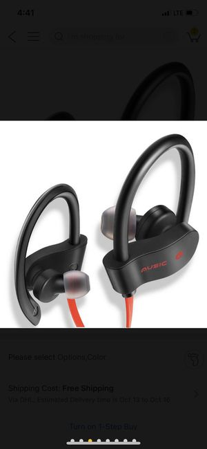 Wireless Bluetooth Sport Headphones Works Handsfree for Phone Calls and Music Compatible w/ iPhone, Samsung and all Android for Sale in Cleveland, OH