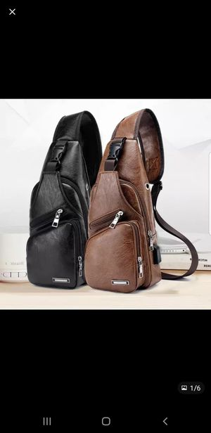 Usb leather backpack for Sale in Lynwood, CA