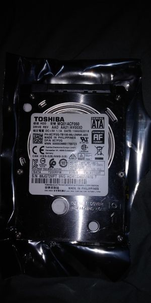 PLAYSTATION 3 OR LAPTOP 500GB HARD DRIVE for Sale in Inman, SC