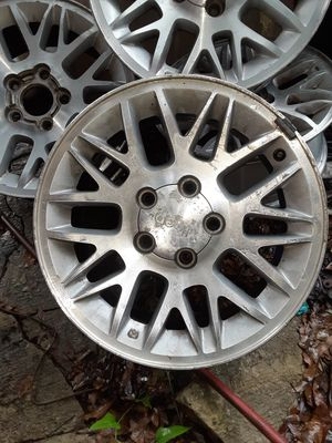 Aluminum 17in Chevy Jeep Wheels for Sale in Spring Hill, FL