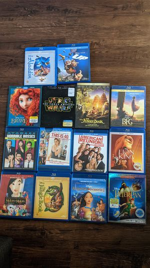 DVD movies for Sale in Rancho Cucamonga, CA