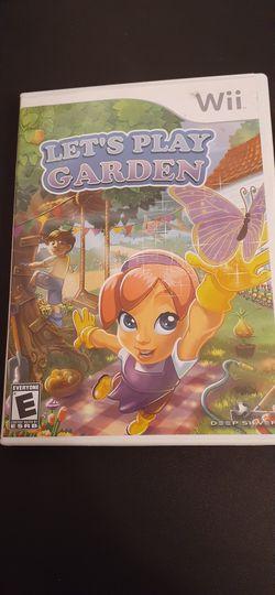 LET'S PLAY GARDEN (Nintendo Wii + Wii U) for Sale in Lewisville,  TX