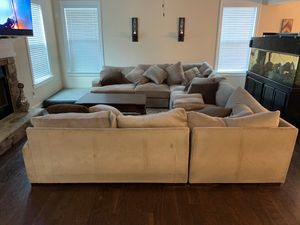 U-shape sectional couch for Sale in Cumming, GA
