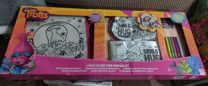 Trolls 3 Pack Colour Your Own Bag Set for Sale in El Cajon, CA