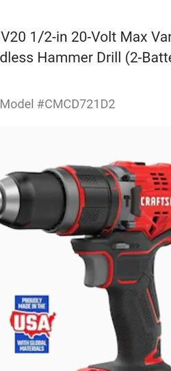 Craftsmen 1/2 In Drill & HAMMER DRILL for Sale in Jersey City,  NJ