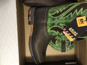 ARIAT WORK BOOTS for Sale in Miami, FL