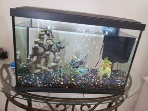15 gallons fish tank for Sale in Las Vegas, NV