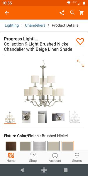 chandelier new in box never opened for Sale in Grand Prairie, TX