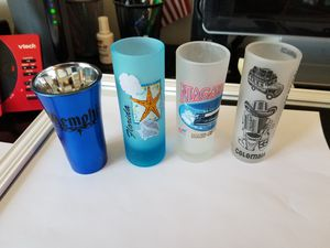 Tall Shot glasses, Nice collection for Sale in Lowell, MA