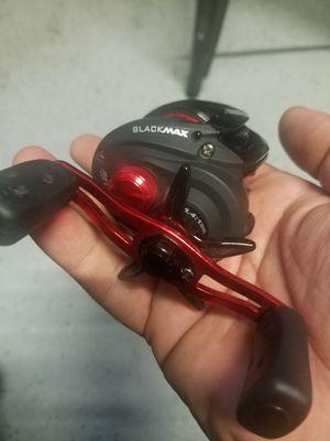 Abu Garcia black max 3 casting reel for Sale in Stockton, CA