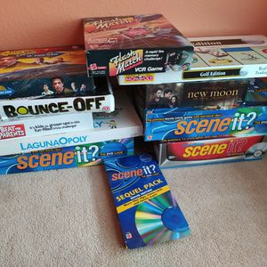 Board games. $4 each. Monopoly, LagunaOpoly $8 each. Complete for Sale in Allen, TX