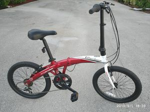 20 inches Giordano City Cruiser folding bicycle. for Sale in Pompano Beach, FL