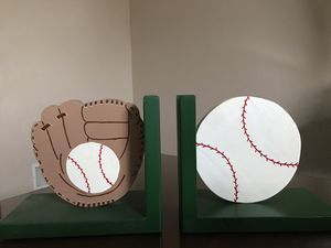 Baseball bookends for Sale in Irwin, PA