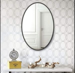 NXHOME Round Bathroom Decorative Wall Mirror for Sale in Hemet, CA