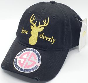 Simply Southern Love Deerly Embroidered Adjustable Hat New with Tags for Sale in Harrisonburg, VA