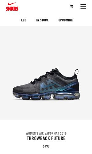 Women's Air Vapormax 2019 Throwback Future for Sale in Bakersfield, CA