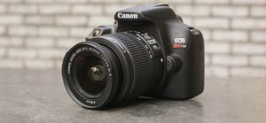Canon T6 Rebel EOS with 18-55 and 75-300 lens for Sale in Sandy Springs, GA
