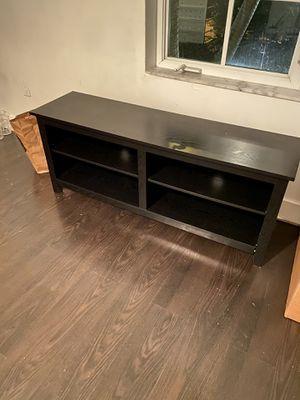 TV Stand / Console - Black for Sale in Miami Beach, FL